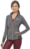 Juniors' Her Universe Wonder Woman Long Sleeve Performance Jacket by DC Comics
