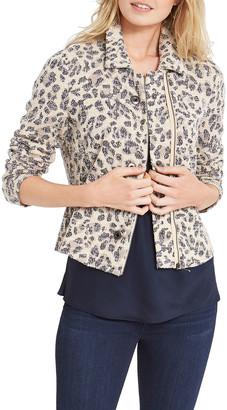 Nic+Zoe Faded Leopard Jacket