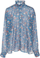 Bohemia Alix Of Alix of Sonnet Floral-Print Silk And Cotton-Blend Blouse