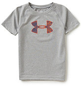 Under Armour Little Boys 2T-7 Midtown Grid Big Logo Short-Sleeve Tee