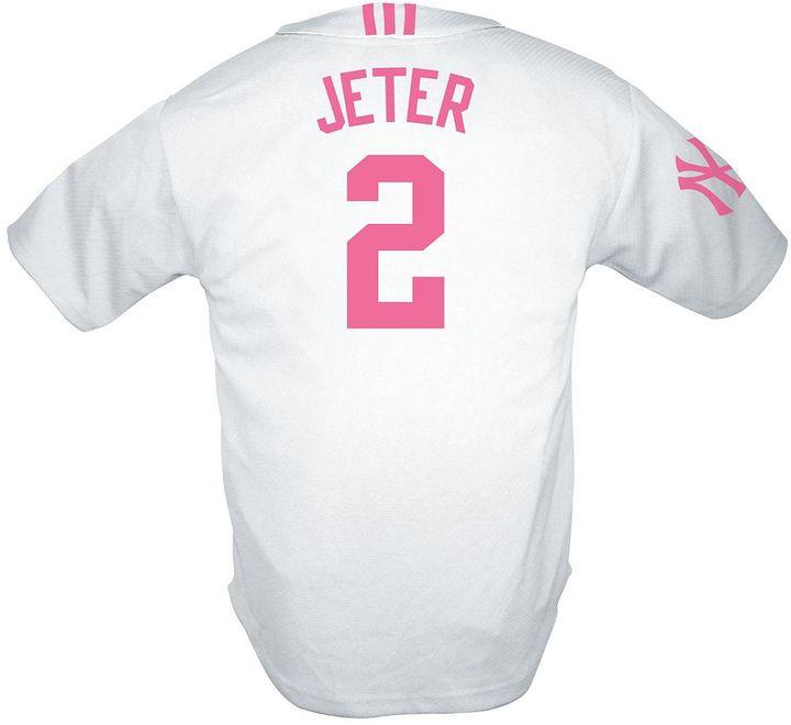 New York Yankees Adidas derek jeter jersey - girls' 7-16