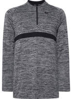 Nike Mélange Dri-Fit Half-Zip Golf Top