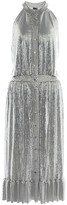 Paco Rabanne Chain halterneck midi dress