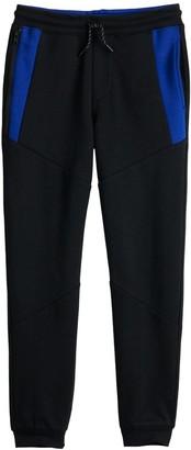 Urban Pipeline Boys 8-20 Color Blocked Zip Jogger Pants in Regular & Husky