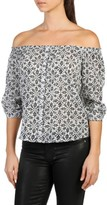 Paige Women's Savannah Off The Shoulder Top