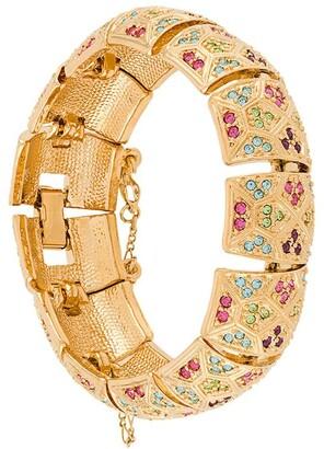 Susan Caplan Vintage 1980s D'Orlan dec-style bracelet