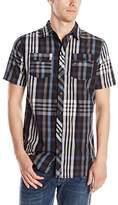 Burnside Men's Monarch Short Sleeve Woven Shirt