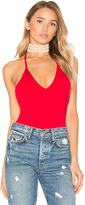Majorelle Barnyard Bodysuit in Red. - size L (also in XL)