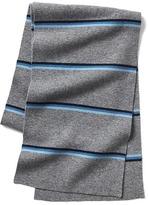 Gap Merino wool blend stripe ski scarf