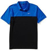 Nike Short-Sleeve Icon Color Block Polo Shirt