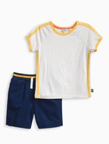 Splendid Little Boy Sporty Short Set
