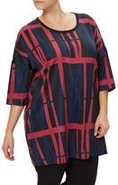 Junarose Plus Mali Striped Tunic