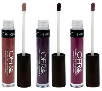 OFRA Cosmetics Vintage Vineyard 3-Piece Lip Set