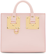 Sophie Hulme SSENSE Exclusive Pink Albion Box Tote