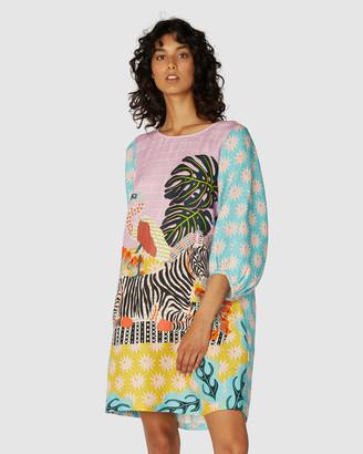 gorman Zebra Dress