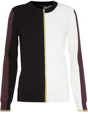Derek Lam Color-block Cotton Cardigan