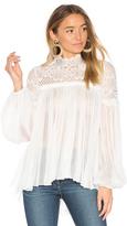 Lover Camelia Silk Blouse