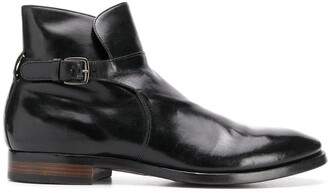Officine Creative Princeton buckled ankle boots