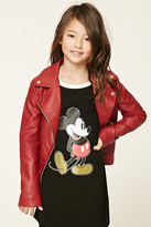 Forever 21 FOREVER 21+ Girls Moto Jacket (Kids)