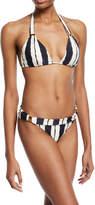 Vix Bia Isla Full Coverage Swim Bikini Bottom, Blue