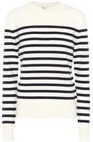 Saint Laurent Striped cashmere sweater