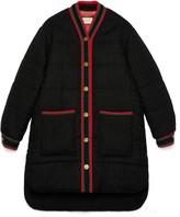 Gucci Tweed padded jacket