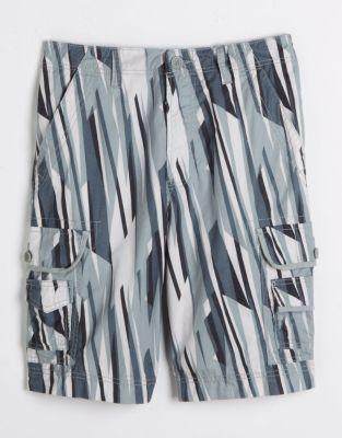 Calvin Klein Jeans Printed Cotton Cargo Shorts