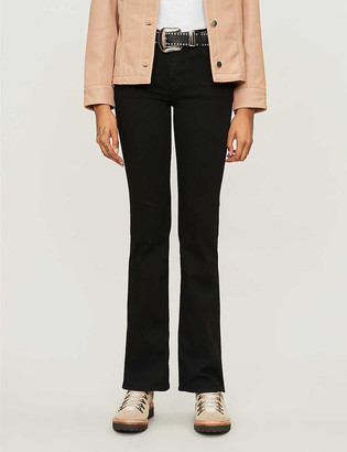 J Brand Sallie mid-rise bootcut jeans