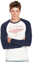 Denim & Supply Ralph Lauren Cotton Graphic Baseball Tee