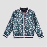 Joe Fresh Toddler Girls' Floral Bomber Jacket