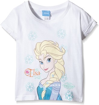 Disney Frozen Girls Elsa Snowflake T-Shirt