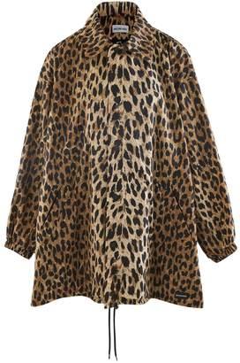 Balenciaga Cocoon Leopard jacket