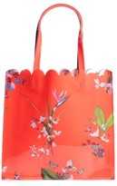 Ted Baker Large Icon - Tropical Oasis Tote - Red