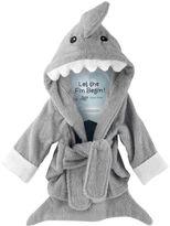 """Let The Fin Begin"" Hooded Shark Robe"