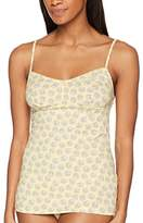 Lovable Women's Daisy All Over Gilet,(Manufacturer Size: )