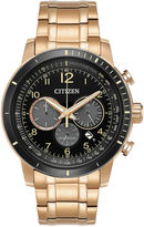 Citizen Mens Rose Goldtone Bracelet Watch-Ca4359-55e