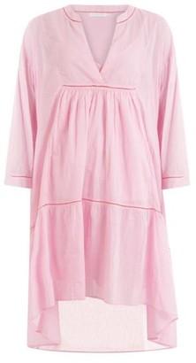 Coster Copenhagen - Dress With Big Front Pocket Colour Pink Pop 606 - 38