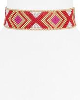"Aqua Kari Beaded Choker Necklace, 12.5"" - 100% Exclusive"