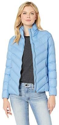 Lauren Ralph Lauren Polyfill Jacket (Hydrangea) Women's Coat