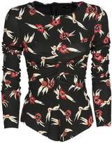 Isabel Marant Domino Floral Print Jersey Top