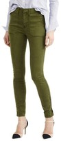 J.Crew Petite Women's Zip Ankle Stretch Skinny Cargo Pants