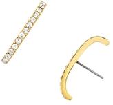 BaubleBar Elle Pave Stud Earrings