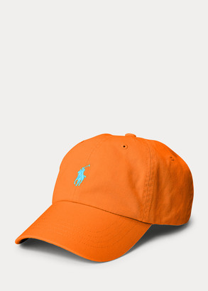 Ralph Lauren Cotton Chino Neon Ball Cap