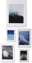 DENY Designs 'Let's Be Epic' Wall Art Gallery (Set of 5)