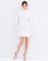 Lover Honeycomb Long Sleeve Mini Dress