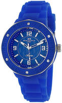 Oceanaut Womens Blue Rubber Bracelet Watch