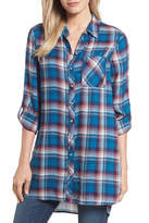KUT from the Kloth Ravi Flannel Tunic