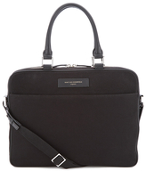 Want Les Essentiels Haneda 15' Slim Computer Bag Black/black