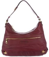 Marc Jacobs Push Lock-Accented Leather Hobo