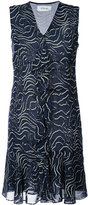 Derek Lam 10 Crosby printed sleeveless mini dress